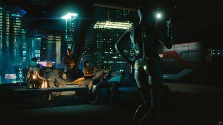 Скриншот из видеоигры Cyberpunk 2077