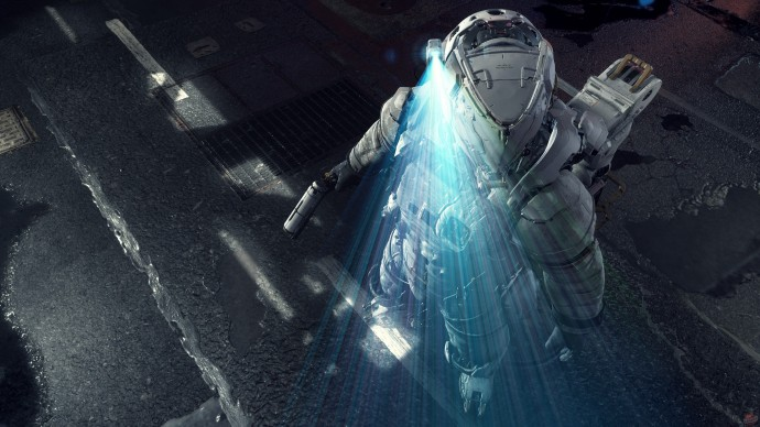 Скриншот из видеоигры Pragmata
