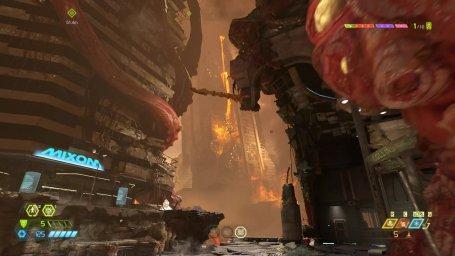 Скриншоты из видеоигры Doom Eternal