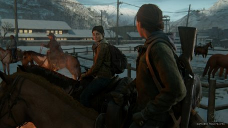 Скриншот из видеоигры The Last of Us: Part 2